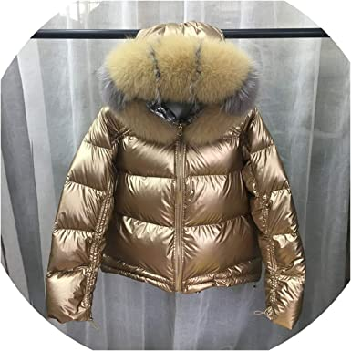2 in 1 Winter Snow Wear Duck Down Jacket Coat Warm Hooded Clothes Large Fur Collar Parka