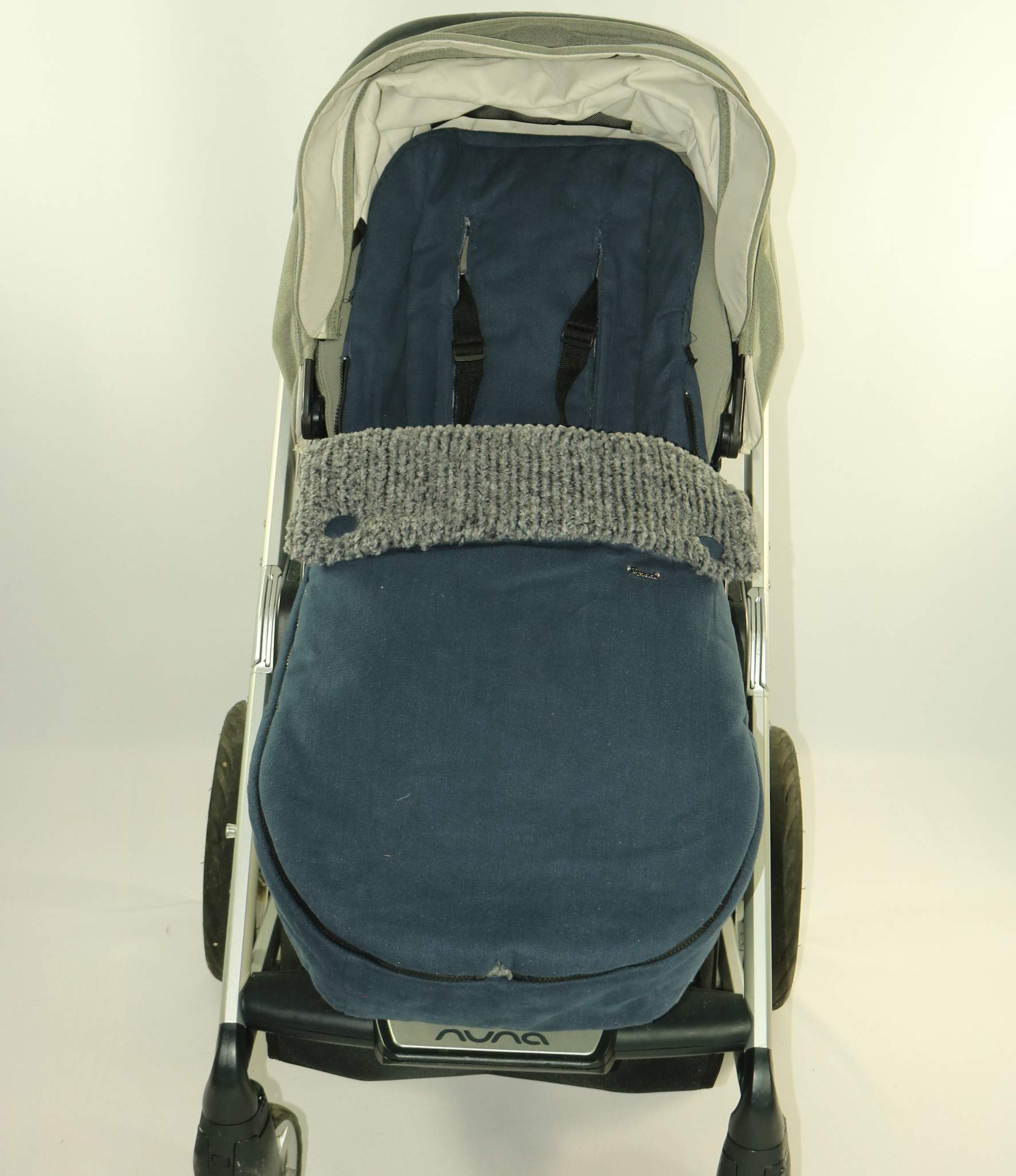 Foot muff, Warm Cozy Winter Stroller Toddler Baby Bunting (Blue)