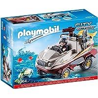 PLAYMOBIL City Action Coche Anfibio con Motor Sumergible