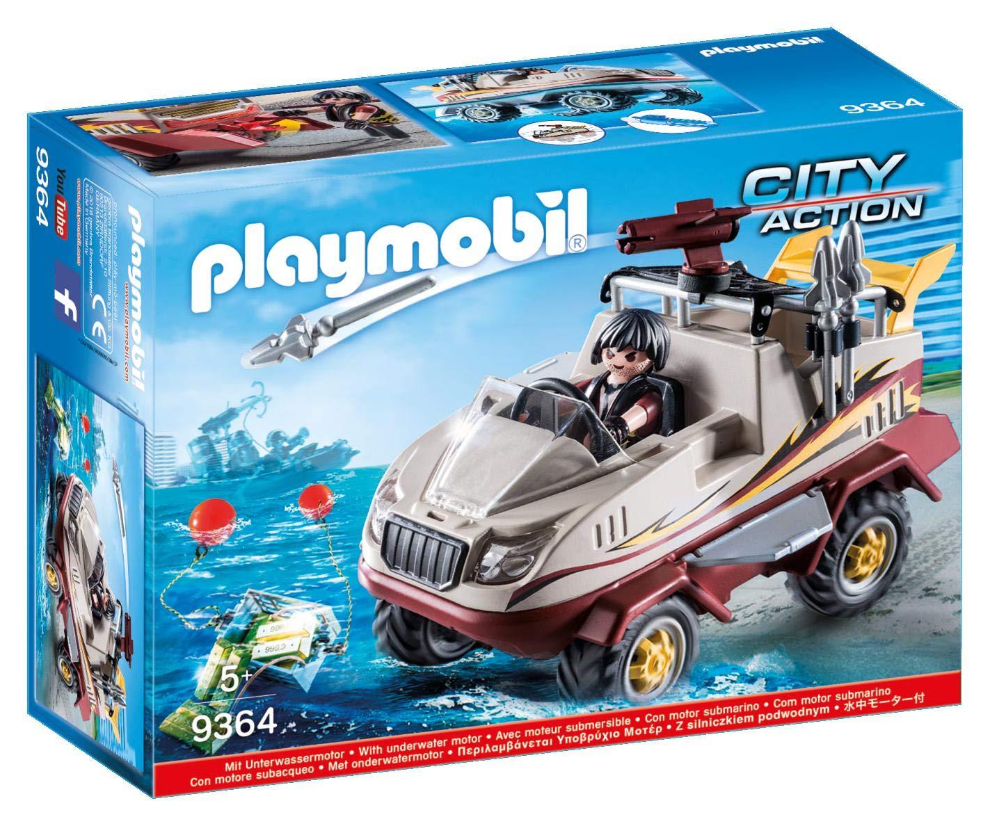 PLAYMOBIL Amphibious Truck