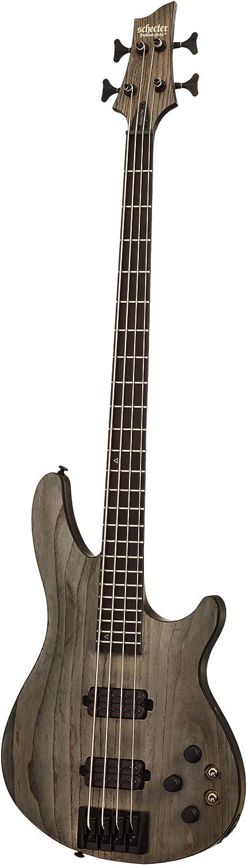 Schecter 4 String Bass Guitar, Rust Grey (1319)