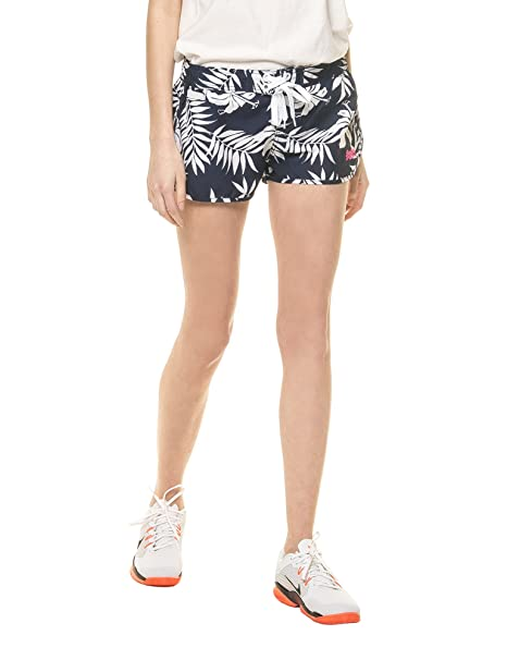 30312504c8 Superdry Women's Hawaiian Hibiscus Boardshort Women's Shorts in Size M  Blue: Amazon.ca: Clothing & Accessories
