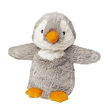 Warmies - Pingüino, Peluche térmico, Color Gris (T-Tex 108): Amazon.es: Juguetes y juegos