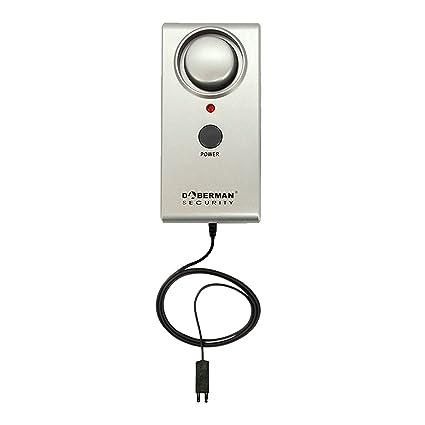 GuDoQi® Sensor de nivel de agua alarma almacén humedad líquido detección de fugas seguridad en