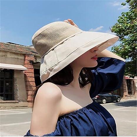 aeea7fb55e8410 Amazon.com : LIZHONG-SLT Hat, woman, summer hat, sun hat, anti ...