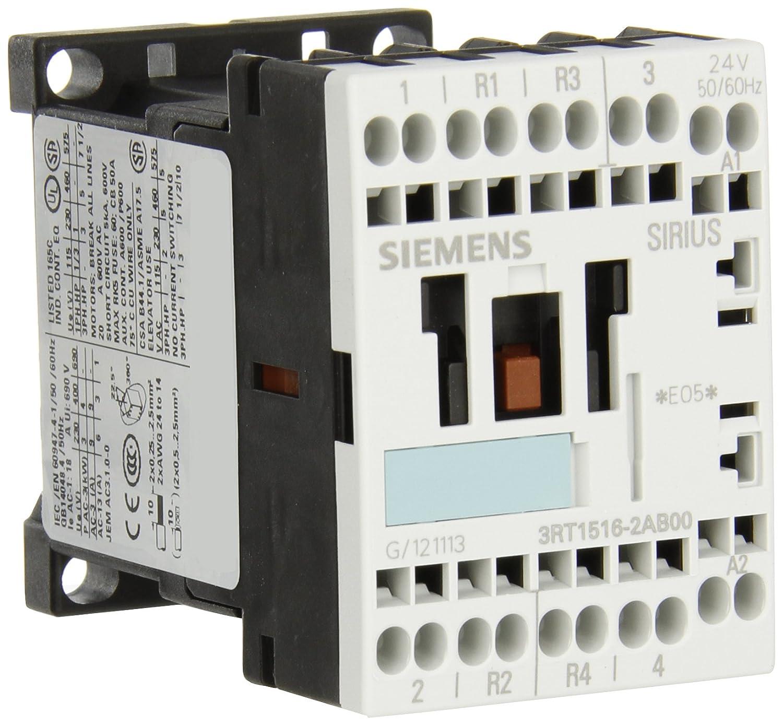 Amazon.com: Siemens 3rt15 Tamaño 16 – contactor 2 AB00 ...