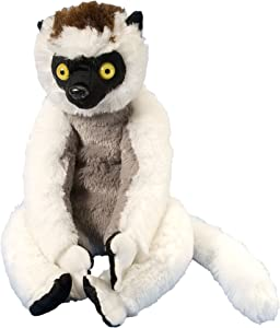 Wild Republic Sifaka Plush, Stuffed Animal, Plush Toy, Gifts for Kids, Cuddlekins 12 Inches