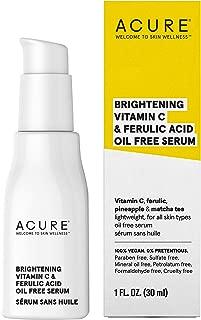 product image for ACURE Brightening Vitamin C & Ferulic Acid Oil Free Serum, 1 OZ