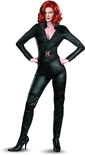 Disguise Marvel S Avengers Movie Black Widow Avengers Deluxe Adult Costume