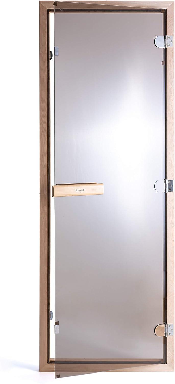 suleno® para puerta de sauna Bronce Cristal 70 x 190 cm: Amazon.es: Salud y cuidado personal