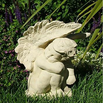 Amazoncom Crying Angel Garden Statue Outdoor Statues Patio