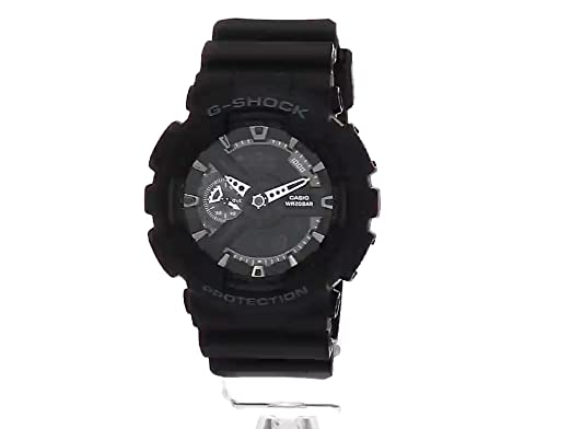 93dc3e0e948a Amazon.com  Casio G-Shock X-Large Display Stealth Black Watch (GA110-1B) -  Water and Shock Resistant  Casio  Watches
