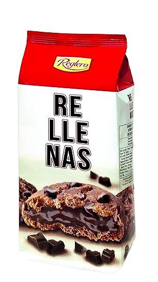 Reglero Cookies Rellenas - Paquete de 18 x 200 gr - Total: 3600 gr
