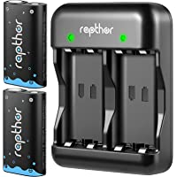 Rapthor Xbox Controller Battery Pack Rechargeable for Xbox One/Xbox Series X/Xbox One S/Xbox One X/Xbox One Elite…
