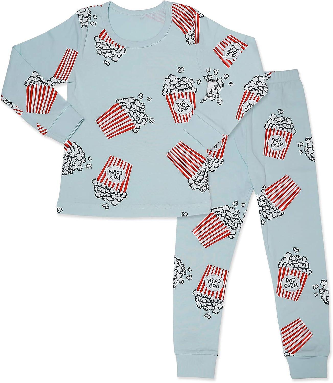 Kids Boys//Girls Unisex 100/% Cotton Pyjamas Short Sleeve Set Nightwear Sleepwear