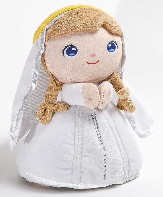 Peluche Virgen María -Jesusito de mi vida- 22 cm. Virgen de Fátima (Ref. 2002b): Amazon.es: Juguetes y juegos