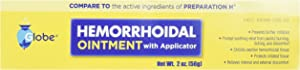 Hemorrhoidal Pain Relief Ointment Generic for Preparation H (2 OZ Tube)