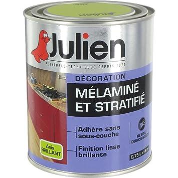 Peinture Mélaminé Et Stratifié L Brillant Anis Amazonfr - Peinture sous couche stratifie