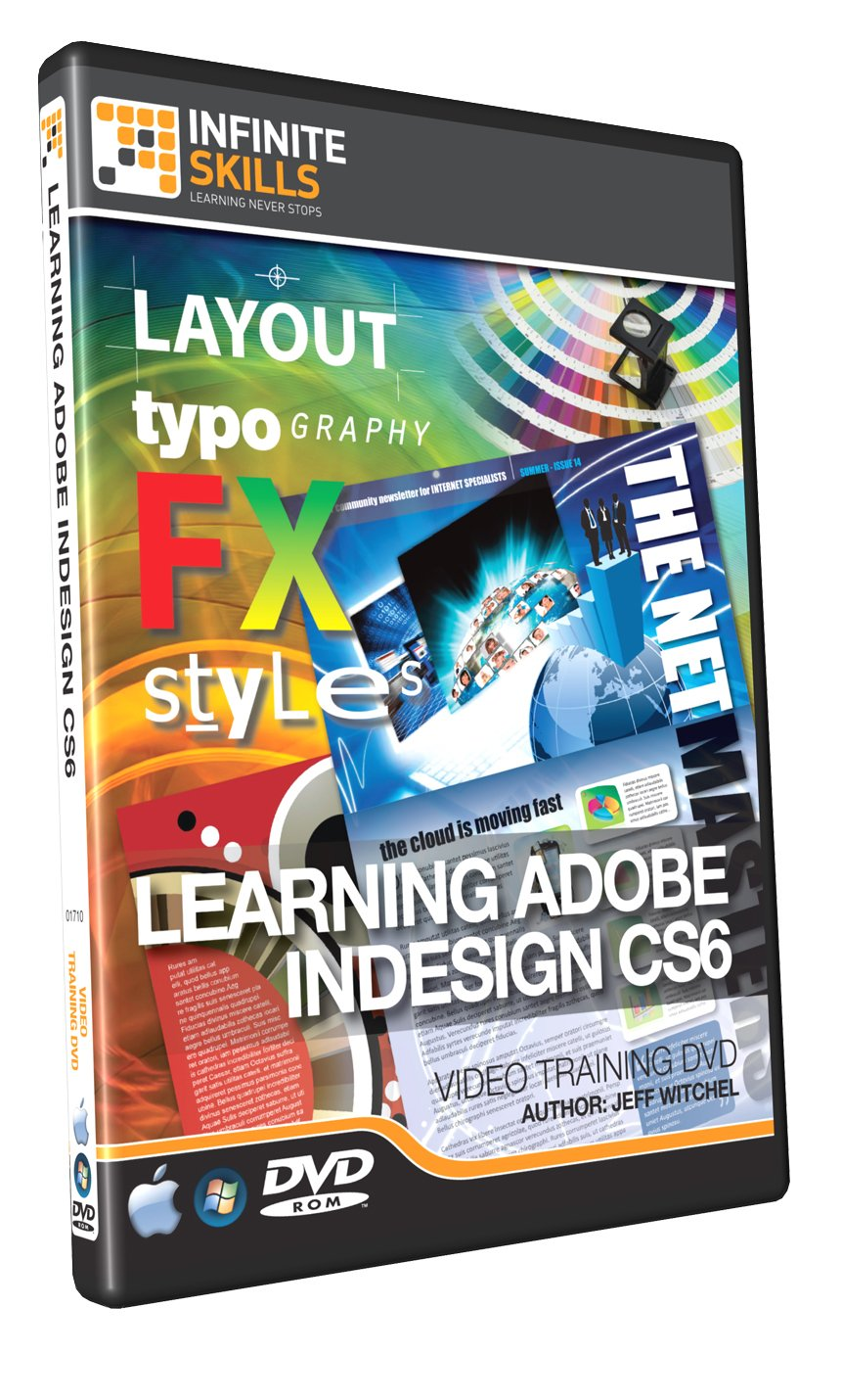 Learning Adobe InDesign CS6 - Training DVD - Tutorial Video