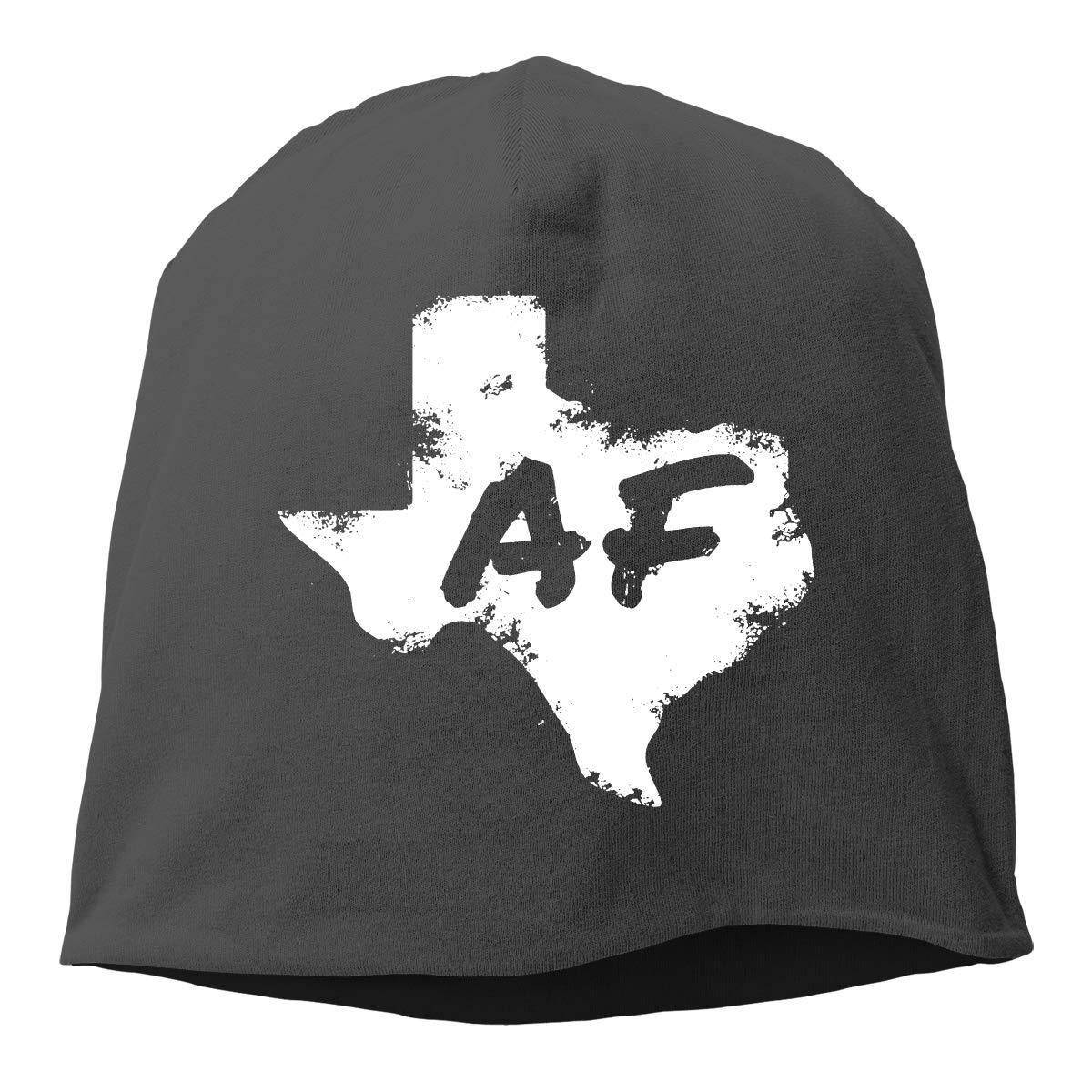 Texas AF Unisex Knitted Hat Beanie Hat Warm Hats Skull Cap Beanie Hat