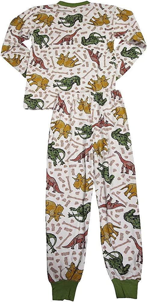 Saras Prints Baby Boys Long Sleeve Pajamas