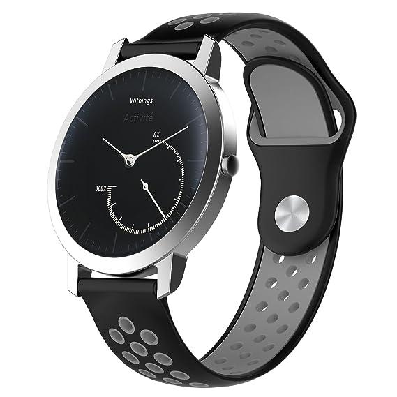 Amazon.com: XIHAMA 18mm Universal Smart Watch Bands ...