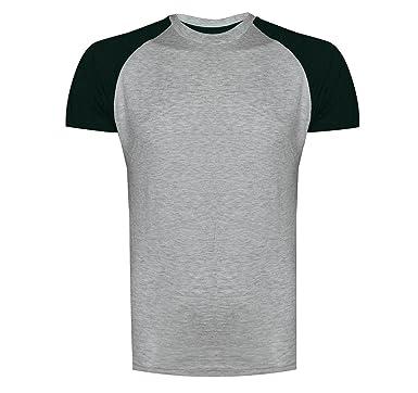 bca2d2d1c07 Mens Brave Soul Baptist Newe Designer Crew Neck T-Shirt Raglan Tee   Amazon.co.uk  Clothing