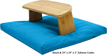 Amazon.com: Bean Products - Banco de meditación de bambú ...