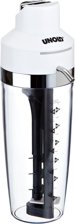 Unold 78711 Barkeeper Weiß Elektrischer Shaker Für Cocktails Milchshakes Und Fitness Diätdrinks Amazon De