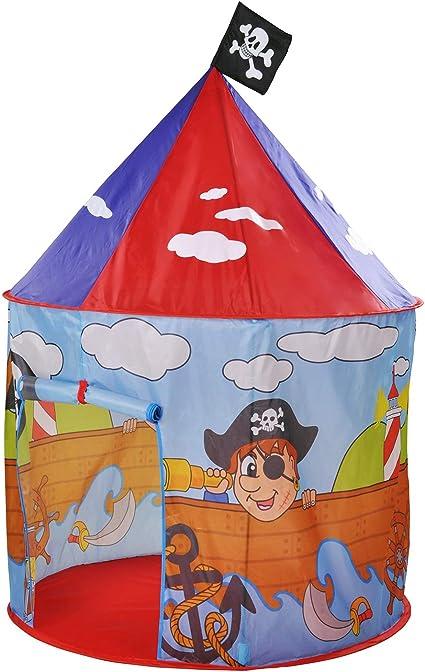Knorrtoys - Tienda de campaña con Carpa diseño de Isla del Tesoro y Piratas: Amazon.es: Juguetes y juegos