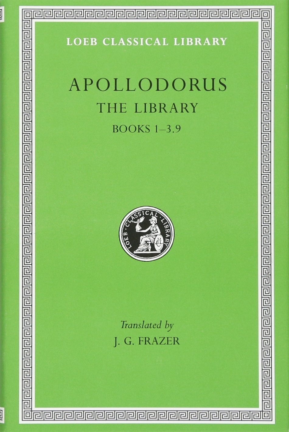 Apollodorus:  The Library, Volume I: Books 1-3.9