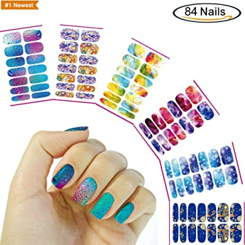Amazon Holiday Diy Water Transfer Nail Art Stickers Nail