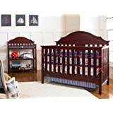 Amazon Com Graco Lauren Convertible Crib Espresso Baby