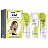 DevaCurl Mini Transformation Kit for Wavy Hair with 1.5oz Low-Poo Delight, 1.5oz One Condtion Delight, and 1.5oz WaveMaker Touchable Texture Whip