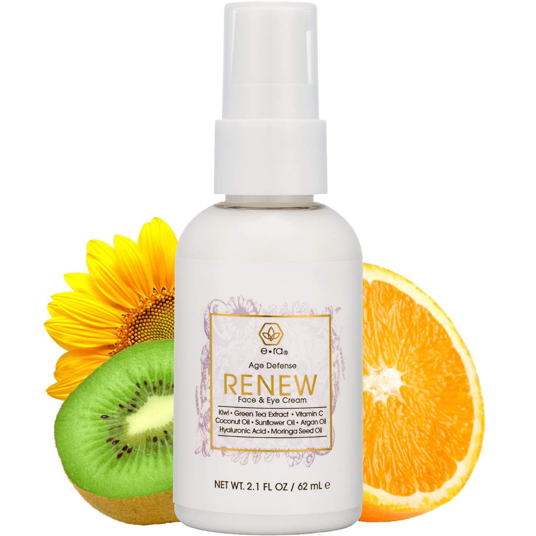 Amazon Com Anti Aging Cream Face Moisturizer Rejuvenating Face Eye Cream With Hyaluronic Acid Jojoba Oil Green Tea More Premium Natural Organic Skin Care For Wrinkles