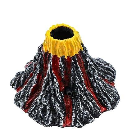 CZYCZY - Juego de Adornos para Acuario con Forma de volcán de ...