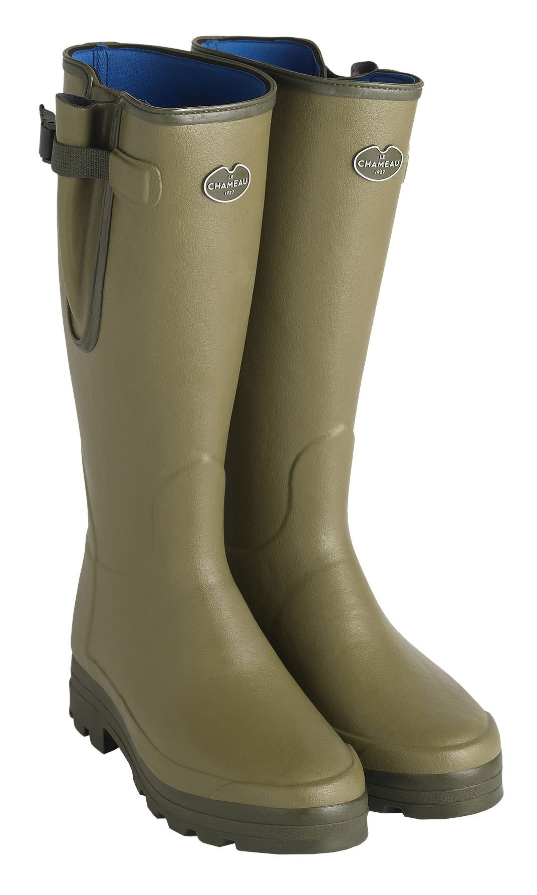 LE CHAMEAU 1927 Men's VIERZONORD XL Neoprene Lined Boot - US 10