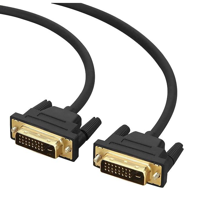 1 opinioni per XIAOMAN Cavo DVI a DVI 3m, DVI su DVI (DVI-D 24+1) Dual Link Maschio a Maschio