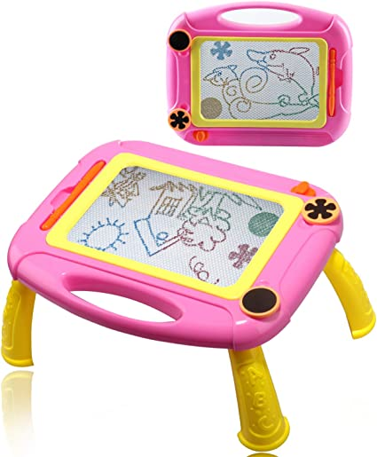 Amazon Com Popular Toy For 2 7 Year Old Girls Magna Drawing Doodle Board For Toddler Gift For 2 7 Year Old Girls Best Birthday Presents For 2 7 Year Old Girls Creativie Toy For Little Girls