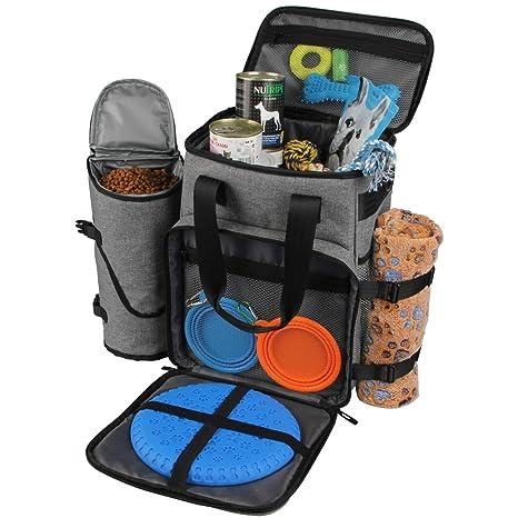 Amazon.com: Hilike - Bolsa de viaje para perros y gatos con ...