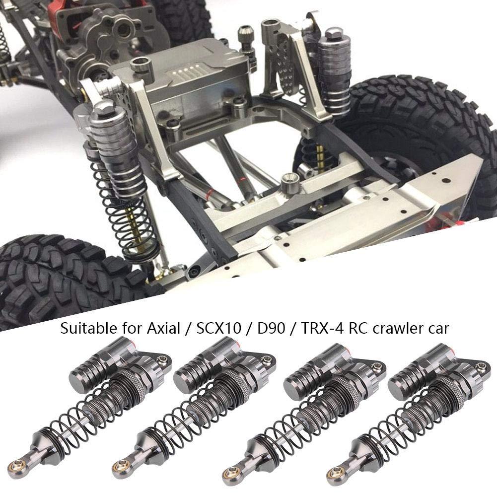 60 mm 85 mm 100 mm Hensych anteriore e posteriore in metallo ammortizzatore per 1//10 RC auto camion tipo Crawler Axial SCX10 TRX4 D90 Set di 4 ammortizzatori per olio regolabile