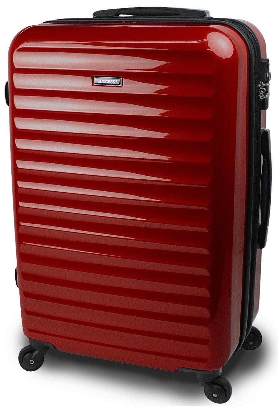 スーツケース 3サイズ( 大型  中型  小型 ) 超軽量 キャリーバッグ TSAロック 【 ヴィアーノ2020 ダブルファスナーモデル 】 鏡面ミラー加工 B072N89HXF 小型 SSサイズ 51cm 1~3泊用|ブラッド ブラッド 小型 SSサイズ 51cm 1~3泊用