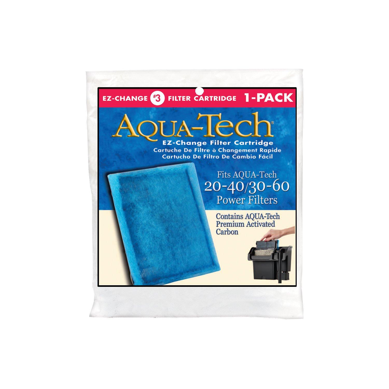 Aqua-Tech EZ-Change Aquarium Filter Replacement Cartridge