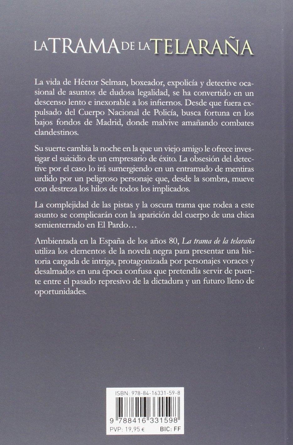 La trama de la telaraña (La huella): Amazon.es: J.D. Lisbona: Libros