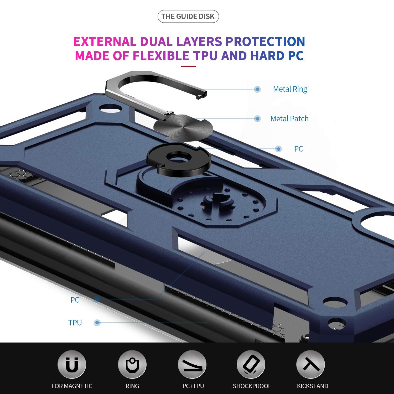 Amazon.com: Funda para Samsung Galaxy A50, LeYi de grado ...
