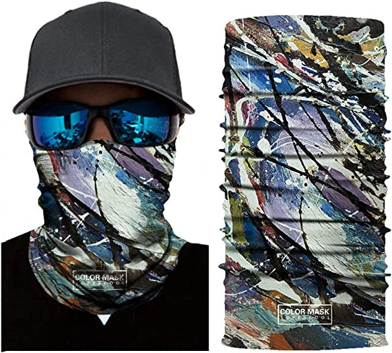 YF ZJ Rider Couples Face Masks Motorcycles Half Face Mask UV Protection Windproof Dust-Proof Mouth Filter Riding Cycling ATV Dirt Bike Racing Off Road Cosplay(Pack of 2)