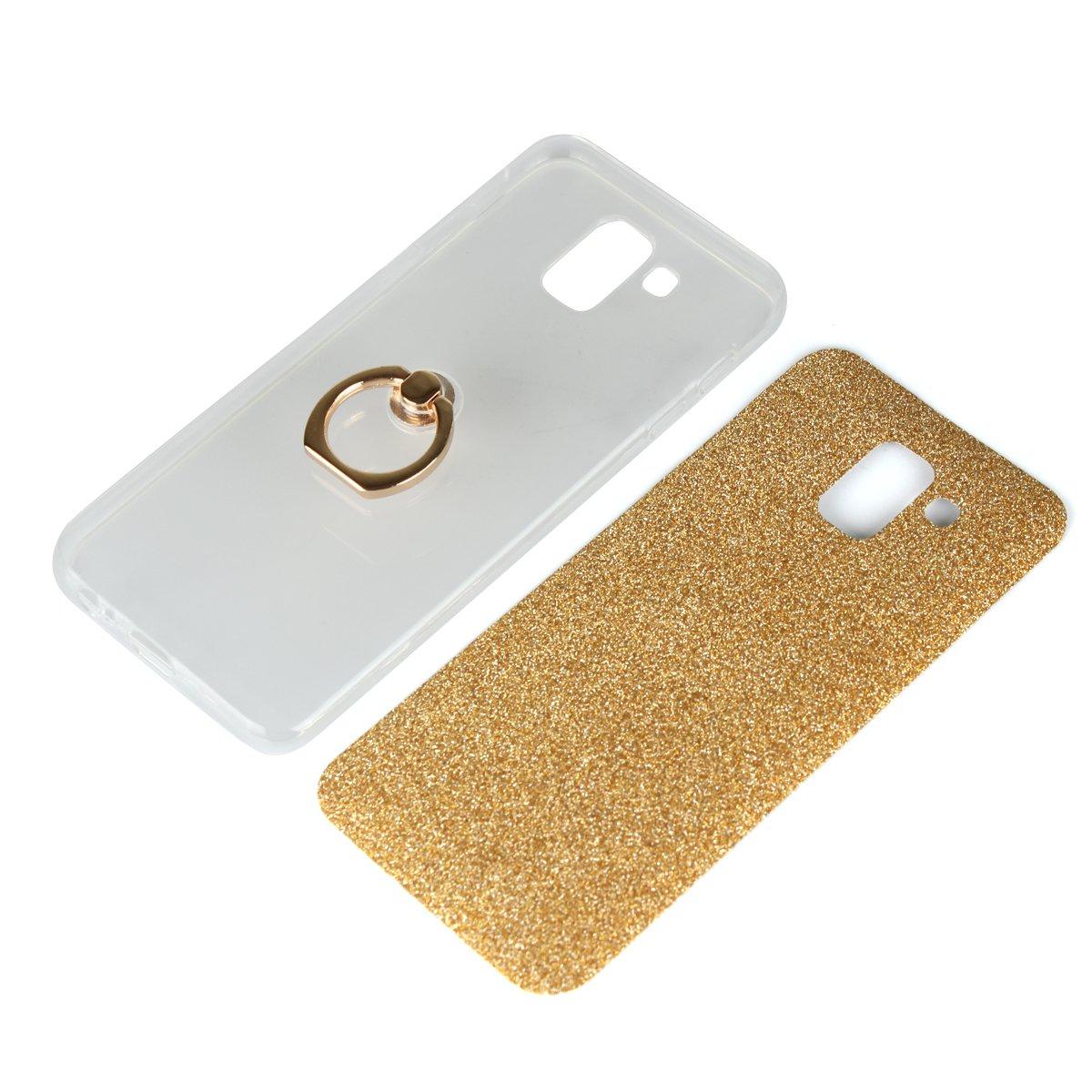 Bling Glitter Sparkle Ultra Slim Glatt Leichte Flexible Gel Bumper TPU Silikon Schutz H/ülle mit Ring Grip St/änder f/ür Xiaomi Redmi 5 Plus Funluna Xiaomi Redmi 5 Plus H/ülle