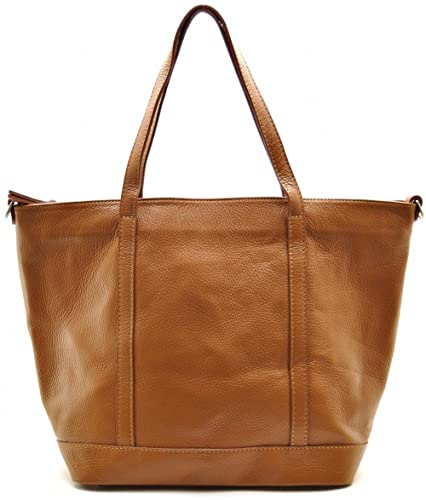 89fa8baaf1 OH MY BAG Sac à Main cabas femme en cuir italien porté main, épaule ...