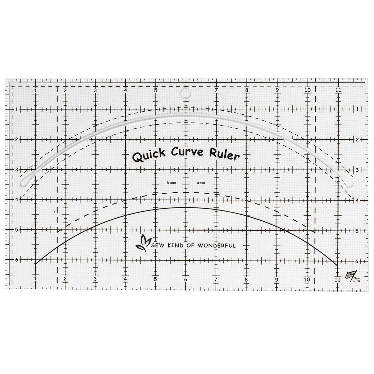 Quick Curve Ruler from Sew Kind of Wonderful by Checker Notions Company Inc