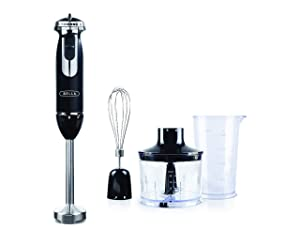 BELLA 14769 Attachments Immersion Blender, One Size, Black